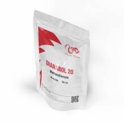Dianabol 20 mg (100 tabs)